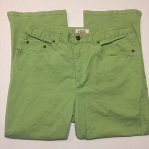 Talbots Women's Green Capris